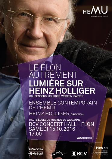 Le Flon autrement : Lumière sur Heinz Holliger