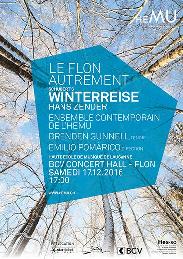 Le Flon autrement : Winterreise