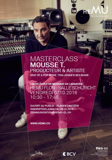 Masterclass : Mousse T.