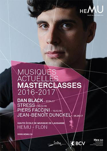 MASTERCLASSES MUSIQUES ACTUELLES : Dan Black