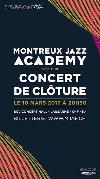 montreux jazz academy : concert de clôture