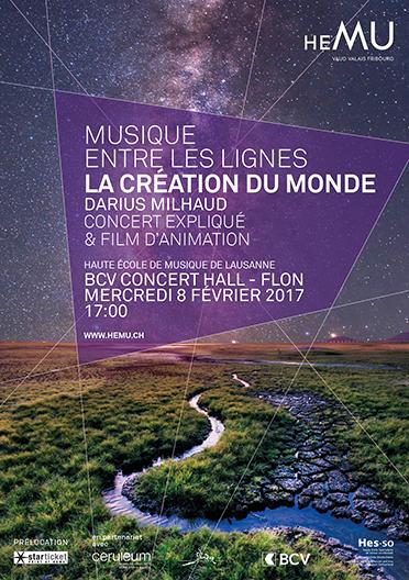 Musique entre les lignes : La Création du Monde