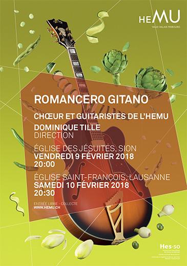 Romancero Gitano - Choeur de l'HEMU