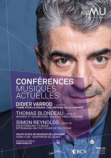 Conférence musiques actuelles : Tombé pour la France : Histoire de la chanson