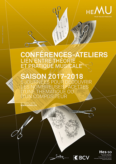 CONFÉRENCE-ATELIER - LIEN ENTRE THÉORIE ET PRATIQUE MUSICALE: L'ART DE LA TRANSCRIPTION