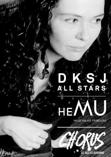 DKSJ All Stars avec Sylvie Courvoisier