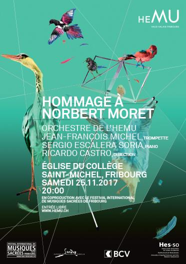 Hommage à Norbert Moret