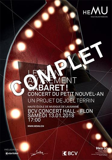 Cabaret! - Concert du Petit Nouvel-An