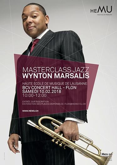 MASTERCLASS JAZZ : WYNTON MARSALIS