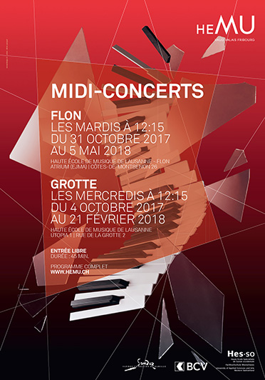 Midi-concerts (Grotte): Standards revisités de Jazz