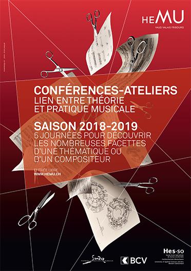 CONFÉRENCE-ATELIER : TRANSCRIPTION - ZOOM AVANT MAHLER/ BOLENS, ZOOM ARRIERE DEBUSSY/JARRELL