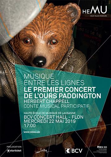 Le premier concert de l'ours Paddington