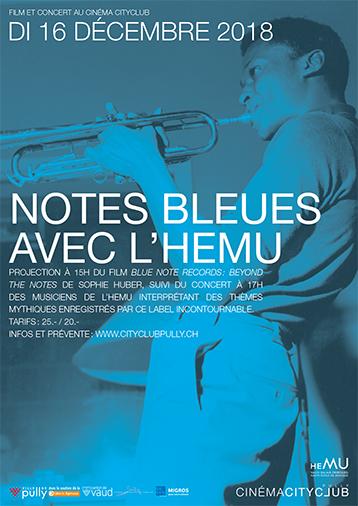 Notes Bleues avec l'HEMU