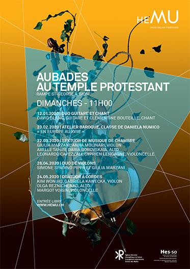 Aubade au Temple Protestant - Atelier baroque de Daniela Numico