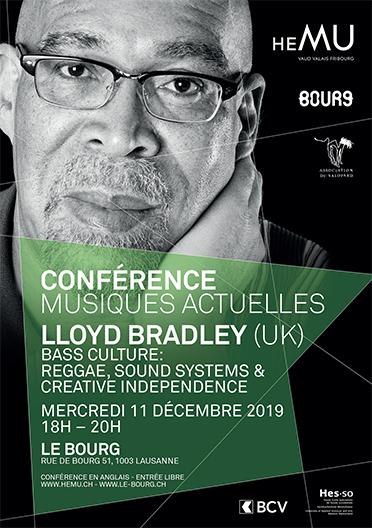 Lloyd Bradley (UK) > Conférence Musiques Actuelles