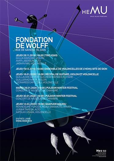 Concerts à la Fondation de Wolff