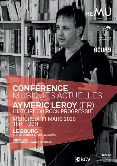 Histoire des Musiques - Conférence Musiques Actuelles