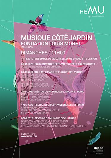 Musique Côté Jardin - Musique de Chambre