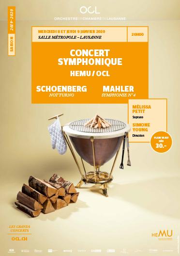 Concert symphonique HEMU / OCL