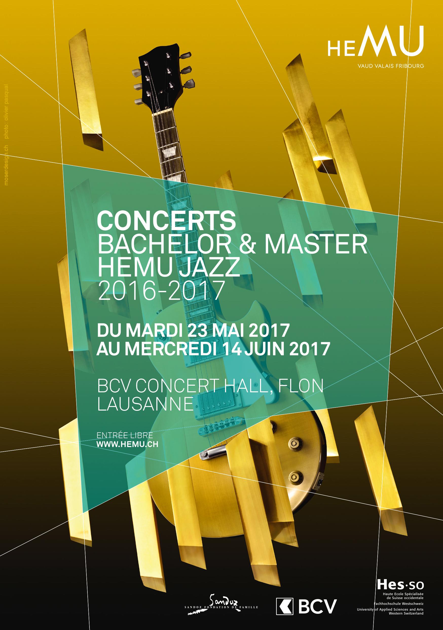 Concerts Bachelor & Master Jazz