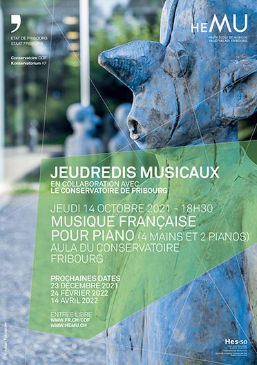 Musique française pour piano (4 mains et 2 pianos)