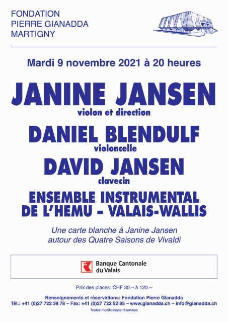 Autour des 4 saisons de Vivaldi, une carte blanche à Janine Jansen